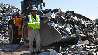 DJJ Employee in Scrap Yard