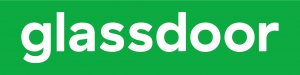 glassdoor logo green and white